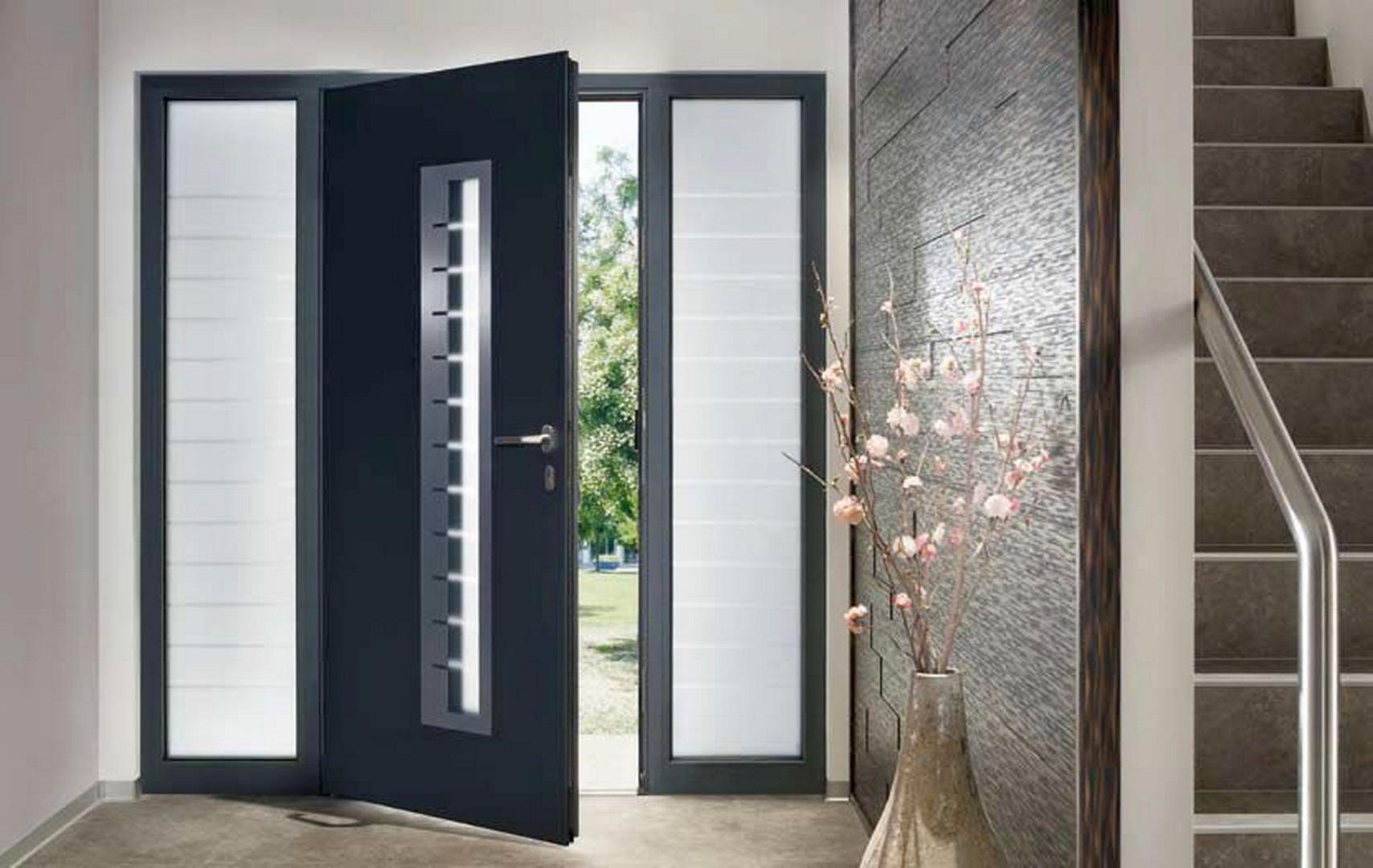 Portes d'entrée Alu